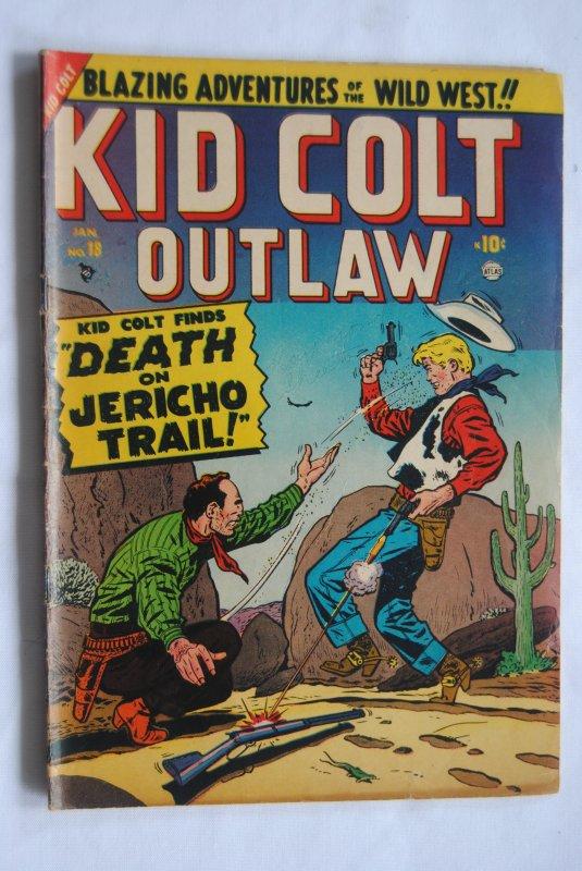 Kid Colt Outlaw #18