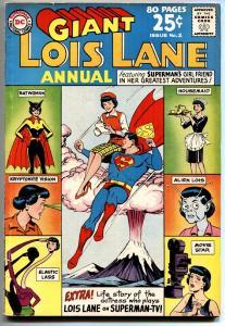 Lois Lane Annual #2 1963-noel Neill  Superman Tv Series Vg+