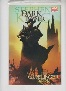 THE DARK TOWER 'STEPHEN KING'  #'S 1-7 & SKETCH BOOK 2007 MARVEL /  UNREAD