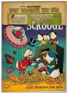 UNCLE SCROOGE 46 POOR   December 1963