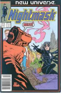 Nightmask #2, VF+ (Stock photo)