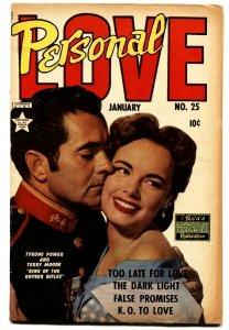 Personal Love #25 1954- Frank Frazetta - Golden Age Romance Betty Page