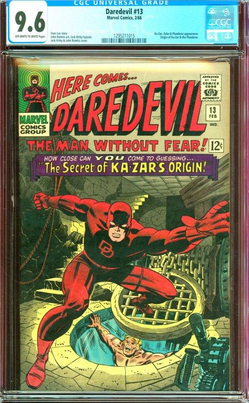 Daredevil #13 CGC Graded 9.6
