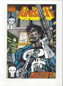 The Punisher #63 (1987)  Face Off  Marvel Comics NM