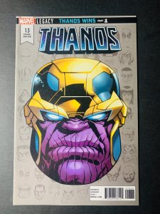 Thanos 13 Variant - 1:10 Mike McKone RI - 1st App Cosmic Ghost Rider - NM