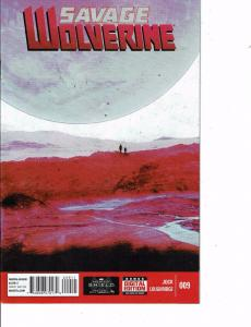 Lot Of 2 Comic Books Marvel Savage Wolverine #9 and #8  ON9