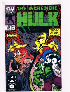 The Incredible Hulk # 387 VF Marvel Comic Books Avengers Thor Iron Man Thing SW7