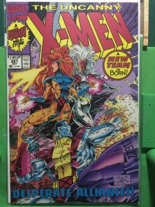 The Uncanny X-Men #281 A New Team is Born!