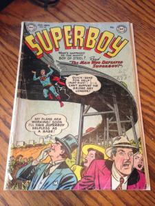 Superboy 28 GD (DC October, 1953) Golden Age