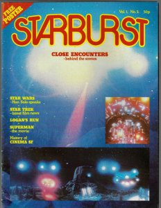Starburst Sci Fi Magazine #3 (1978) Close Encounters