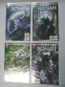 Annihilation Ronan set #1-4 8.0 VF (2006)
