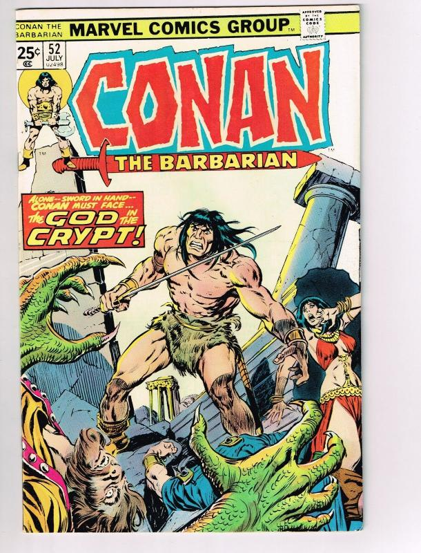 Conan The Barbarian # 52 VF/NM Marvel Comic Book Canning PEDIGREE Collection D16