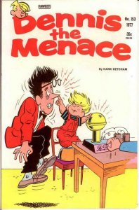 DENNIS THE MENACE  (1953-1979) 153 VF Sept. 1977 COMICS BOOK