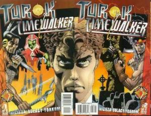 TUROK TIMEWALKER  (1997 ACCLAIM/VL) 1-2  Gulacy