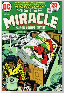 MISTER MIRACLE #17, FN+, Jack Kirby, 4th World, 1971, more JK in store