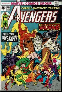Avengers #131, 6.0 or Better *KEY* 1st Legion of the Unliving