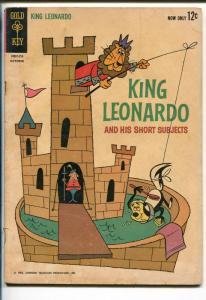 KING LEONARDO #1 1962-GOLD KEY-1ST ISSUE-HANNA-BARBERA TV SERIES-good/vg