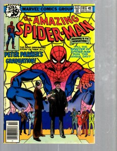 Amazing Spider-Man # 185 VF- Marvel Comic Book MJ Vulture Goblin Scorpion TJ1