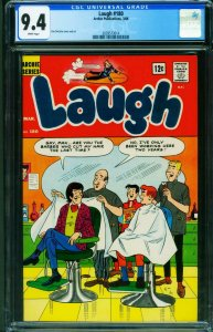 Laugh Comics #180 CGC 9.4 1966- Archie- Barbershop 2039573014