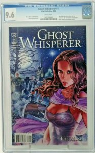 Ghost Whisperer: The Muse #1 ~ CGC 9.6 NM+ ~ Adriano Loyola cover ~ 2008 IDW