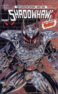 ShadowHawk (3rd Series) #13 VF/NM; Image | save on shipping - details inside