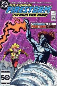 Fury of Firestorm (1982 series) #43, VF+ (Stock photo)
