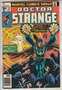 Doctor Strange #24 (Aug-77) VF/NM High-Grade Dr.Strange