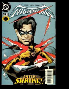 12 Nightwing DC Comics #55 56 57 58 59 60 61 62 63 64 65 66 Batman Superman GK10