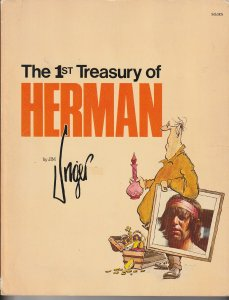 1st Treasury of Herman by Jim Unger(Andrews and McMeel Inc,11th Printing, 1980)
