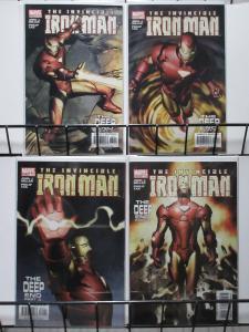 IRON MAN(Marvel,1998) #79-82 VF-NM The Deep End pts 1-4 Miller/Tan