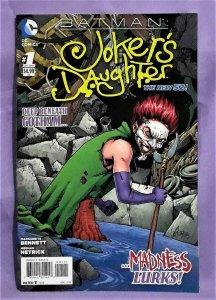DC New 52 Marguerite Bennett BATMAN JOKER'S DAUGHTER #1 (DC, 2014)!