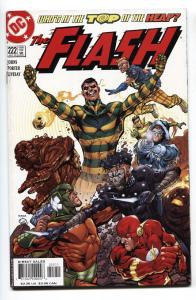Flash #222-2005-Rogues Gallery - Rogue War story Comic Book