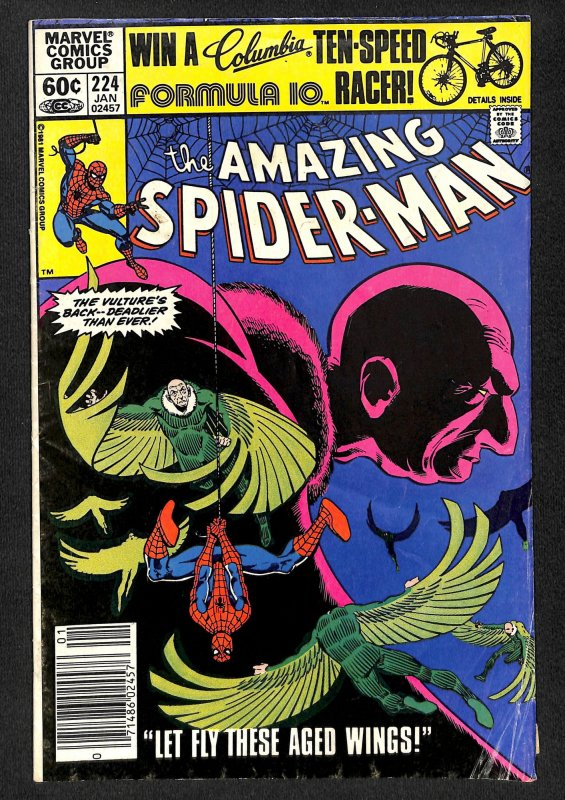 The Amazing Spider-Man #224 (1982)