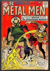 Showcase #38 VG 4.0 Metal Men! DC Comics