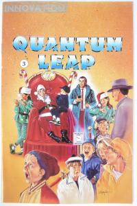 QUANTUM LEAP #3 (March 1992) - illustrator Andy Price first work Signed inside
