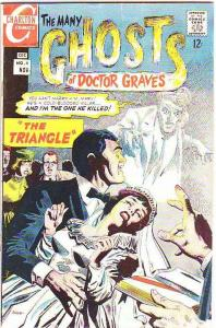 Many Ghosts of Doctor Graves, The #4 (Nov-67) FN+ Mid-Grade Doctor Graves