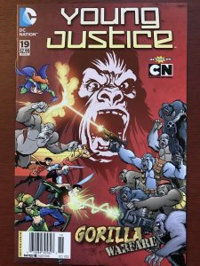 YOUNG JUSTICE (2011)  (DC CARTOON NETWORK) #19 NM- NEWSSTAND VARIANT