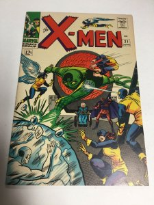 X-Men 21 Fn Fine 6.0 Marvel Comics Silver Age
