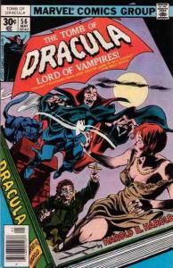 Tomb of Dracula #56 VF; Marvel | save on shipping - details inside