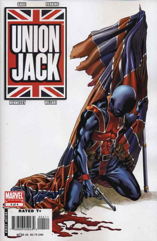 Union Jack (2nd Series) #4 VF/NM; Marvel | save on shipping - details inside