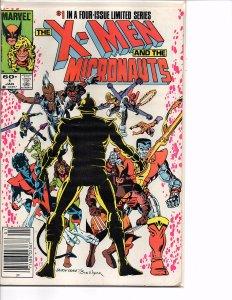Marvel Comics (1984) X-Men and the Mirconauts #1  Chris Claremont Baron Karza
