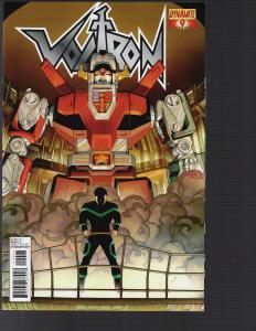 Voltron #9 (Dynamite, 2011)