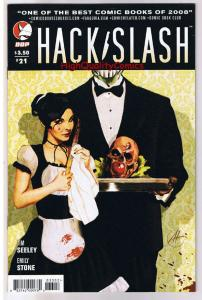 HACK SLASH #21, NM, Series, Tim Seeley, Serial Killer, 2007, more HS in store