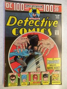 DETECTIVE COMICS # 438 DC 100 PG ACTION ADVENTURE BATMAN