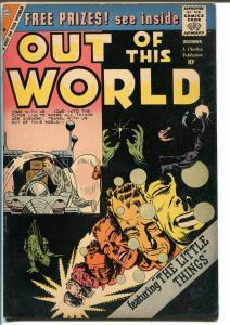 Out Of This World #16 1959-Charlton-Steve Ditko-Iron Man type story-FN