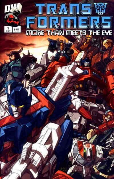 Transformers: More Than Meets the Eye #7 VF/NM; Dreamwave | save on shipping - d