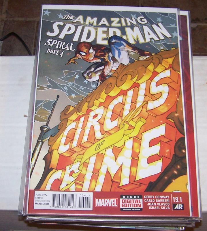 Amazing Spider-Man #  19.1 ( 2015 Marvel)   circus of crime