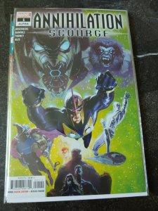 ANNIHILATION SCOURGE #1 ALPHA VF/NM