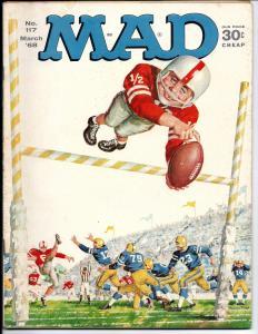 Mad No. 117,  March, 1968 (VF)