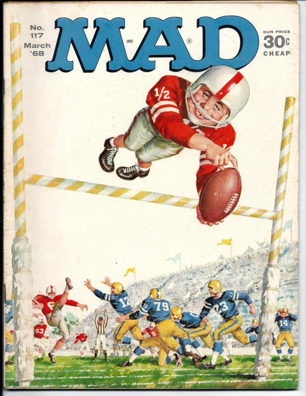 Mad No. 117,  March, 1968 (VF)